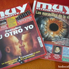 Coleccionismo de Revista Muy Interesante: MUY INTERESANTE NºS 210 Y 211 NOVIEMBRE DICIEMBRE 1998. Lote 161747406