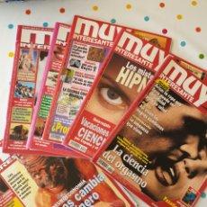 Collectionnisme de Magazine Muy Interesante: MUY INTERESANTE DE 1994 A 2007 - 6 NÚMEROS. Lote 161908305