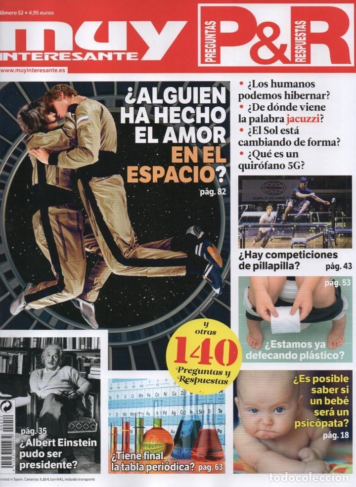 MUY INTERESANTE PREGUNTAS & RESPUESTAS N. 52 (NUEVA) (Coleccionismo - Revistas y Periódicos Modernos (a partir de 1.940) - Revista Muy Interesante)