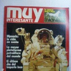 Coleccionismo de Revista Muy Interesante: MUY INTERESANTE. ALBAÑILES DEL ESPACIO. Nº 50. 1985.. Lote 165351178