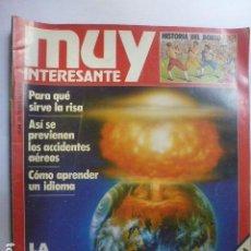 Coleccionismo de Revista Muy Interesante: MUY INTERESANTE LA BOMBA DEL FIN DEL MUNDO. Nº 30. 1983.. Lote 165352718