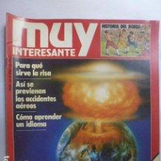 Coleccionismo de Revista Muy Interesante: MUY INTERESANTE LA BOMBA DEL FIN DEL MUNDO. Nº 30. 1983.. Lote 165352766