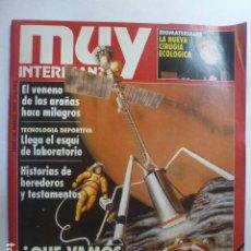 Coleccionismo de Revista Muy Interesante: MUY INTERESANTE ¿QUÉ VAMOS A SACAR DE MARTE? Nº 130. 1992.. Lote 165353258