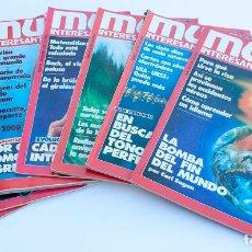 Coleccionismo de Revista Muy Interesante: LOTE DE NUMEROS 30, 31, 34, 52, 54, 58 Y 62. REVISTA MUY INTERESANTE. 1983 A 1986.. Lote 167605380