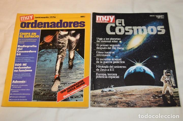 Coleccionismo de Revista Muy Interesante: GRAN LOTE DE 18 REVISTAS MUY INTERESANTE/ MUY INTERESANTE ORDENADORES - PRIMEROS NÚMEROS - MIRA! - Foto 2 - 167985748