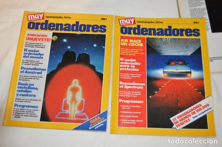 Coleccionismo de Revista Muy Interesante: GRAN LOTE DE 18 REVISTAS MUY INTERESANTE/ MUY INTERESANTE ORDENADORES - PRIMEROS NÚMEROS - MIRA! - Foto 4 - 167985748