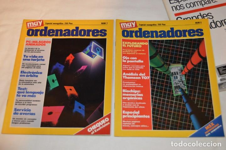 Coleccionismo de Revista Muy Interesante: GRAN LOTE DE 18 REVISTAS MUY INTERESANTE/ MUY INTERESANTE ORDENADORES - PRIMEROS NÚMEROS - MIRA! - Foto 6 - 167985748