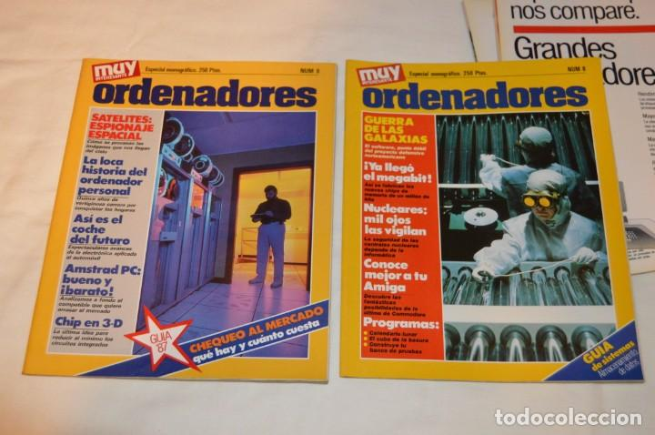 Coleccionismo de Revista Muy Interesante: GRAN LOTE DE 18 REVISTAS MUY INTERESANTE/ MUY INTERESANTE ORDENADORES - PRIMEROS NÚMEROS - MIRA! - Foto 8 - 167985748
