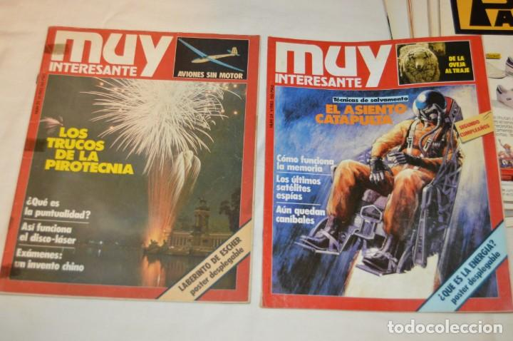 Coleccionismo de Revista Muy Interesante: GRAN LOTE DE 18 REVISTAS MUY INTERESANTE/ MUY INTERESANTE ORDENADORES - PRIMEROS NÚMEROS - MIRA! - Foto 12 - 167985748