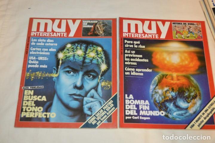 Coleccionismo de Revista Muy Interesante: GRAN LOTE DE 18 REVISTAS MUY INTERESANTE/ MUY INTERESANTE ORDENADORES - PRIMEROS NÚMEROS - MIRA! - Foto 18 - 167985748