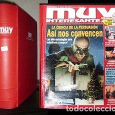 Coleccionismo de Revista Muy Interesante: REVISTA MUY INTERESANTE NUMEROS 248 A 259. AÑO 2002, 12 REVISTAS EN ARCHIVADOR - A-REV-1553. Lote 170978218