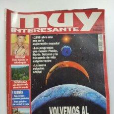 Coleccionismo de Revista Muy Interesante: MUY INTERESANTE. VOLVEMOS AL ESPACIO. Nº 201. FEBRERO 1998.. Lote 171502805