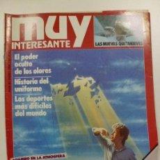 Coleccionismo de Revista Muy Interesante: MUY INTERESANTE. ¿POR QUÉ DESAPARECE EL OZONO?. Nº 80. ENERO 1988.. Lote 171502909