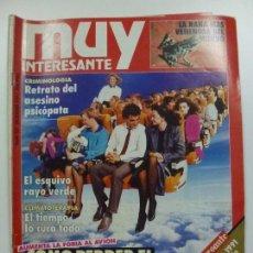 Coleccionismo de Revista Muy Interesante: MUY INTERESANTE. CÓMO PERDER EL MIEDO A VOLAR. Nº 127. DICIEMBRE 1991.. Lote 171502974