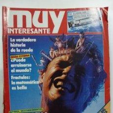 Coleccionismo de Revista Muy Interesante: MUY INTERESANTE. LA LUCHA CONTRA EL DOLOR. Nº 78. NOVIEMBRE DE 1987.. Lote 171503132