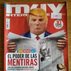 Coleccionismo de Revista Muy Interesante: REVISTA MUY INTERESANTE N°446 JULIO 2018. Lote 172908377