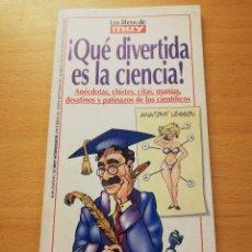 Coleccionismo de Revista Muy Interesante: ¡QUÉ DIVERTIDA ES LA CIENCIA! MUY INTERESANTE Nº 249 (FEBRERO 2002). Lote 175357982