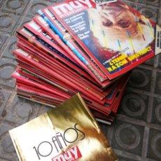 Coleccionismo de Revista Muy Interesante: GRAN LOTE DE 31 REVISTAS MUY INTERESANTE, AÑOS 80-90-00+ ESPECIAL 10 AÑOS.. Lote 177561544