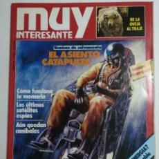 Collectionnisme de Magazine Muy Interesante: MUY INTERESANTE - NÚMERO 24 - MAYO DE 1983 - EL ASIENTO CATAPULTA. TÉCNICAS DE SALVAMENTO. Lote 177809859
