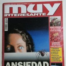 Coleccionismo de Revista Muy Interesante: MUY INTERESANTE - NÚMERO 259 - DICIEMBRE DE 2002 - ANSIEDAD. Lote 177809939