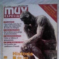 Coleccionismo de Revista Muy Interesante: MUY ESPECIAL N.º 48 JULIO/AGOSTO 2000 HISTORIA DE LAS IDEAS. Lote 54548629