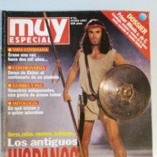 Coleccionismo de Revista Muy Interesante: MUY ESPECIAL Nº 31 OTOÑO 1997 LOS ANTIGUOS HISPANOS. Lote 179220110