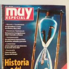 Coleccionismo de Revista Muy Interesante: MUY ESPECIAL Nº 55 HISTORIA DEL TIEMPO. Lote 179220236