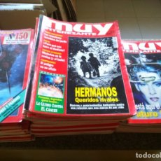 Coleccionismo de Revista Muy Interesante: REVISTA MUY INTERESANTE -- LOTE DE 205 EJEMPLARES --. Lote 180171410