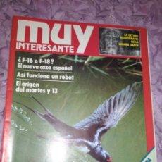 Coleccionismo de Revista Muy Interesante: MUY INTERESANTE N° 11. Lote 182796812