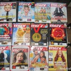 Coleccionismo de Revista Muy Interesante: LOTE DE 48 REVISTAS - MUY INTERESANTE - BUEN ESTADO. Lote 182970276