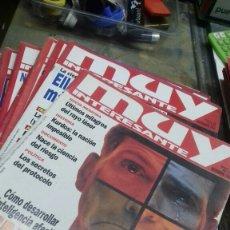 Coleccionismo de Revista Muy Interesante: REVISTA MUY INTERESANTE.AÑO 1996 COMPLETO. Lote 183664450