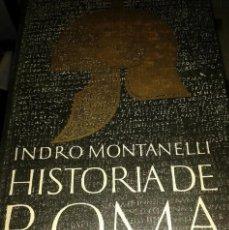 Coleccionismo de Revista Muy Interesante: HISTORIA DE ROMA , DE INDRO MAONTANELLI. Lote 183827863