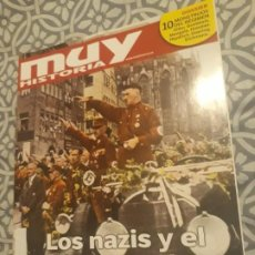 Collectionnisme de Magazine Muy Interesante: REVISTA MUY INTERESANTE HISTORIA Nº88 LOS NAZIS Y EL HOLOCAUSTO*. Lote 185721812