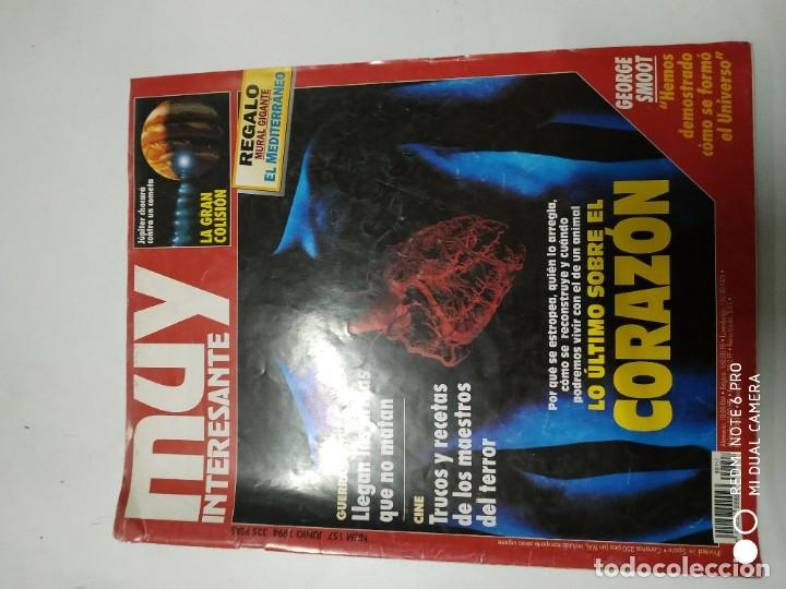 MUY INTERESANTE (Coleccionismo - Revistas y Periódicos Modernos (a partir de 1.940) - Revista Muy Interesante)