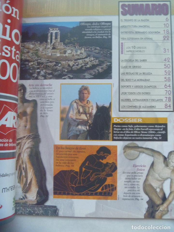 Coleccionismo de Revista Muy Interesante: MUY INTERESANTE HISTORIA , Nº 7, 2006: GRECIA ANTIGUA, HELENOS IMPRESCINDIBLES, ETC - Foto 2 - 186539716