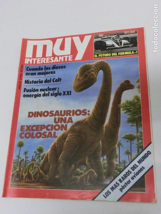 REVISTA MUY INTERESANTE Nº 040 - 40 SEPTIEMBRE 1984 (Coleccionismo - Revistas y Periódicos Modernos (a partir de 1.940) - Revista Muy Interesante)