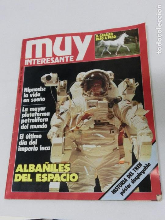 REVISTA MUY INTERESANTE Nº 050 50 JULIO 1985 (Coleccionismo - Revistas y Periódicos Modernos (a partir de 1.940) - Revista Muy Interesante)