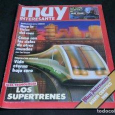 Collectionnisme de Magazine Muy Interesante: REVISTA MUY INTERESANTE Nº 091 - 91 DICIEMBRE 1988 -. Lote 189378653