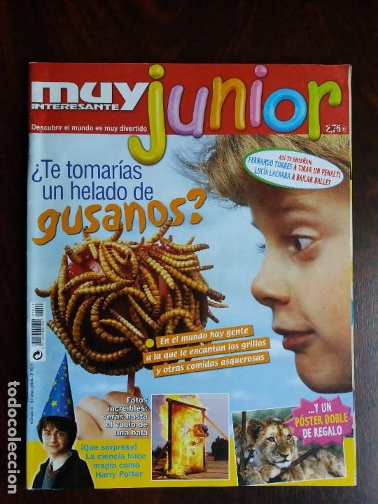 REVISTA MUY INTERESANTE JUNIOR. Nº 0. OCTUBRE 2004. (Coleccionismo - Revistas y Periódicos Modernos (a partir de 1.940) - Revista Muy Interesante)
