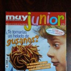 Coleccionismo de Revista Muy Interesante: REVISTA MUY INTERESANTE JUNIOR. Nº 0. OCTUBRE 2004.. Lote 189624677