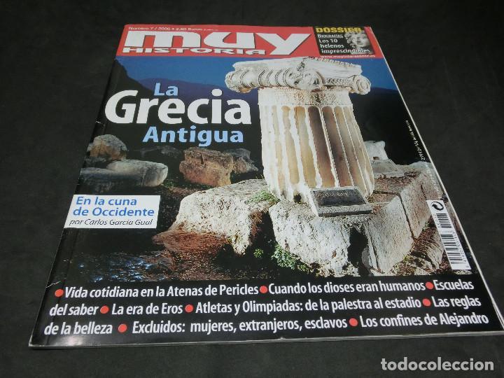 REVISTA MUY HISTORIA ESPECIAL MUY INTERESANTE Nº 7 LA GRECIA ANTIGUA 2006 (Coleccionismo - Revistas y Periódicos Modernos (a partir de 1.940) - Revista Muy Interesante)