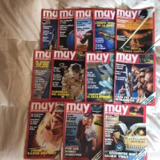 Coleccionismo de Revista Muy Interesante: REVISTAS MUY INTERESANTE AÑO 1985. Lote 191338863
