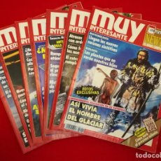 Coleccionismo de Revista Muy Interesante: MUY INTERESANTE LOTE DE 7 NÚMEROS. Lote 191570416