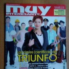 Coleccionismo de Revista Muy Interesante: REVISTA MUY INTERESANTE OCTUBRE 2010 353 LAS CLAVES CIENTÍFICAS DEL TRIUNFO. Lote 192715023