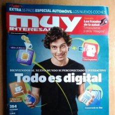 Coleccionismo de Revista Muy Interesante: REVISTA MUY INTERESANTE 354 TODO ES DIGITAL NOVIEMBRE 2010. Lote 192724461