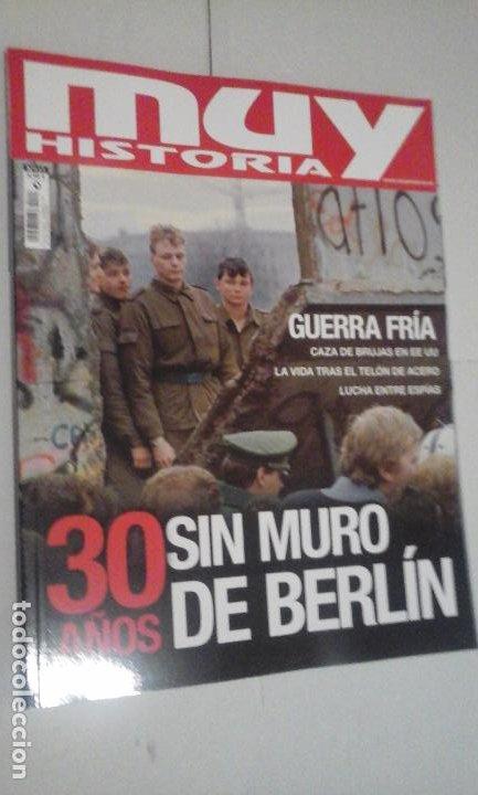 MUY HISTORIA BIOGRAFIAS Nº117 (EN PORTADA:LA GUERRA FRIA) ¡¡LEER DESCRIPCION!! (Coleccionismo - Revistas y Periódicos Modernos (a partir de 1.940) - Revista Muy Interesante)