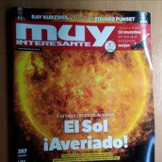 Coleccionismo de Revista Muy Interesante: REVISTA MUY INTERESANTE 357 EL SOL AVERIADO FEBRERO 2011. Lote 192842687