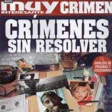 Coleccionismo de Revista Muy Interesante: MUY INTERESANTE CRIMEN N. 2 - EN PORTADA: CRIMENES SIN RESOLVER (NUEVA). Lote 193215112