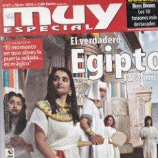 Coleccionismo de Revista Muy Interesante: 2 REVISTAS MUY INTERESANTES:EL VERDADERO EGIPTO Y AHI VIENEN LAS PLAGAS.. Lote 196901830