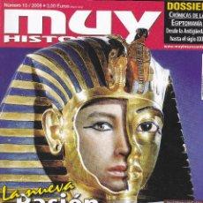 Coleccionismo de Revista Muy Interesante: MUY HISTORIA: LA NUEVA PASION POR EGIPTO. Lote 196951433